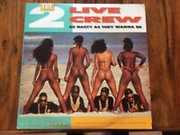 The 2 Live Crew, As nasty as they wanna be 2 x Vinyl LP Album