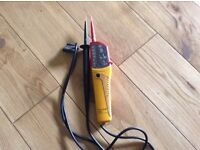 Various voltage testers from £10
