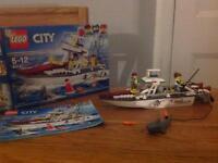 Lego City Fishing Boat set