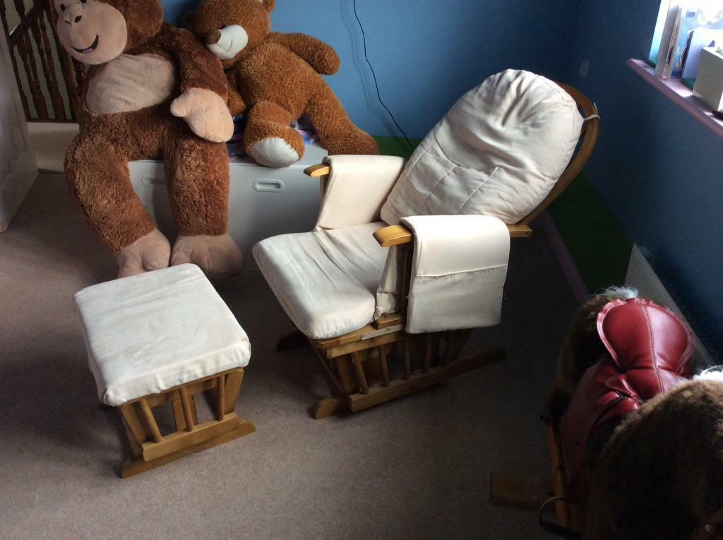 Nursing Glider Maternity Chair In Tranent East Lothian