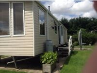 Luxury Static Caravan Sited in North Yorkshire 6 berth, en suite toilet. Quiet 5 star site
