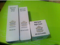 3 x WILD CAVIAR PRODUCTS BY PAULA DUNNE COUGAR GREATGIFT SET NEW SEALED RRP £60