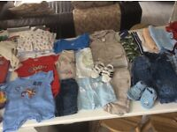 Newborn baby clothes collection