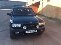 VAUXHALL FRONTERA 4X4 JEAP DIESEL VERY GOOD FOR AGE . 7 months mot