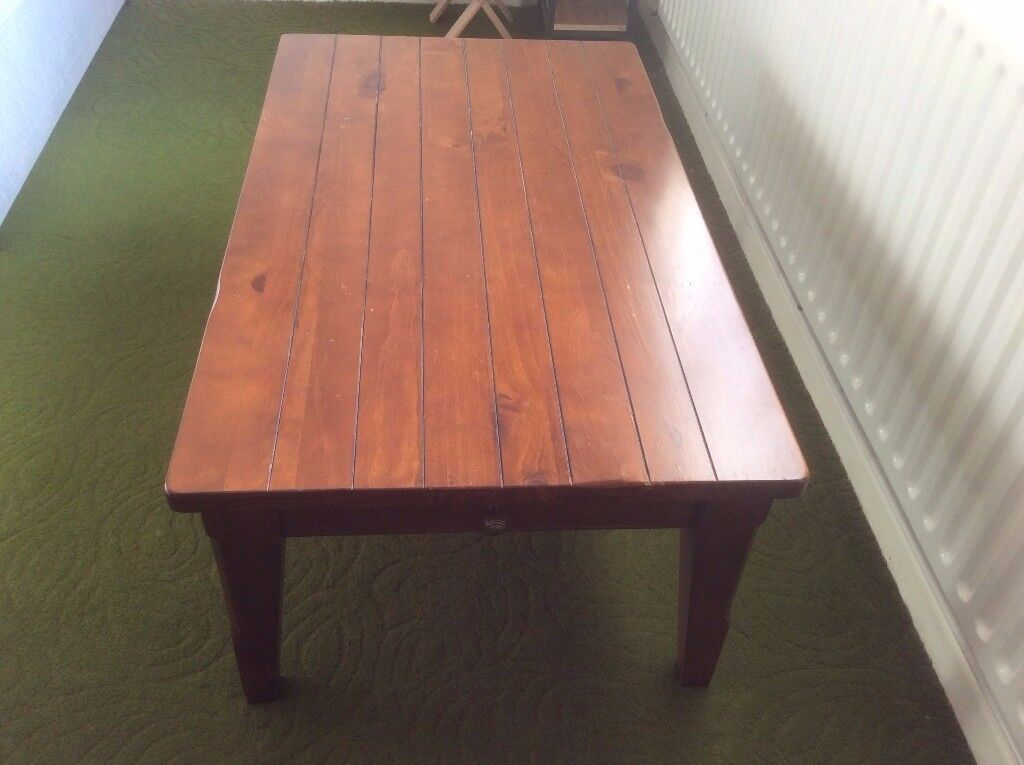 Coffee Table - Solid Wood From Furniture Village