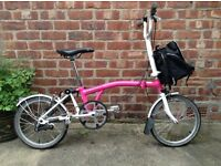 Beautiful Brompton bike - fabulous condition, with courier bag!