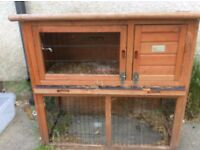 Guinea pig hutch used