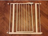 Safety gates and extension bars