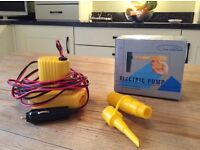 Hi-Gear electric pump for blow up mattress