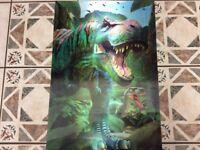 3D dinosaur picture