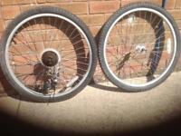 "26"" x 1.5 wheels"