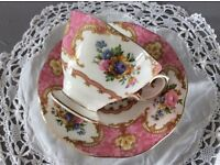 """Royal Albert """"Lady Carlyle"""" Small Tea Cup/Coffee Cup and Saucer."""