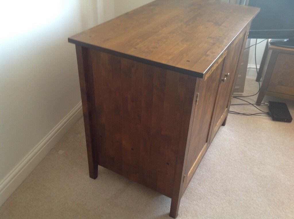 Next solid wood sideboard bureau medium wood see other matching