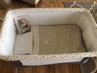JANE babyside crib