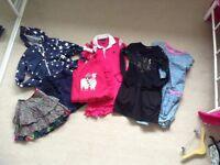 Bundles of girls clothes