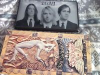 Nirvana and Aerosmith cd box sets, rare