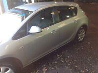 Vauxhall Astra 2013 model 5 doors hatchback serviced 1.4
