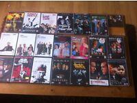 Around 60 DVD boxsets