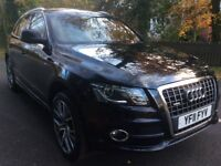 Audi Q5 2.0 tdi Quattro S line 2011 fsh leather sat nav buy for £58 per week