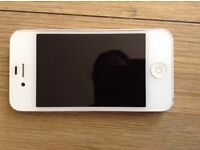 White iPhone 4s - cosmetically in very good condition but not working. Use for spares and repairs