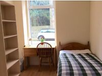 SHORT TERM Single Room in 2 bed flat 15min walk from Aberdeen Uni & Union St. 4th Aug to 4th Sept