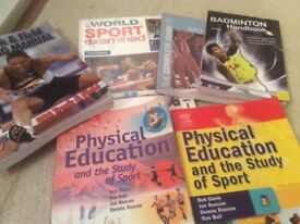 Sports Manuals suitable for Degree work