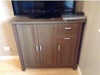 Large dark brown sideboard/cupboard