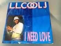 LL Cool J Hip Hop Vinyl record