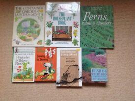 7 gardening books