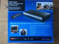 Smart Freeview HD TV Recorder 500gb hard drive with up to 125 hrs HD recording