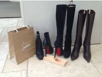 Three pairs of ladies boots