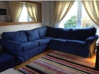 Blue ikea sofa URGENT SALE