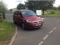 Vauxhall Zafira 1600 16V Life.
