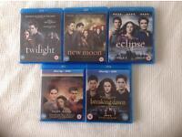 Twilight saga on blu ray