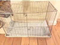 Kitten and puppy cages/cat show cage/ two sizes available