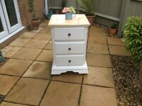 Lovely Solid Pine Bedside Chest