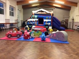 Mickey and Minnie mouse bouncy castle soft play