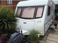 Coachman caravan 4 berth fixed bed