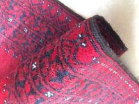 Afghan/ Persian wool rug.
