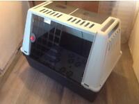Medium dog / animal travel crate - ferplast pet crate