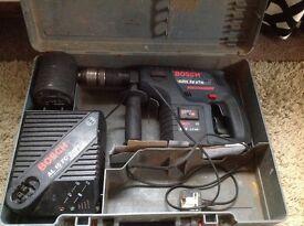 Bosch hammer Sds drill 24v cordless