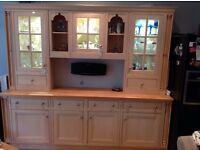 Magnet kitchen dresser cupboard display unit . Good condition