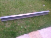 RSJ steel beam, previously used