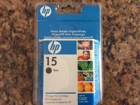 Brand new HP 15 printer cartridge