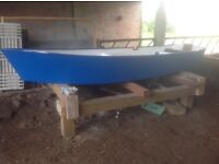 Fishing dinghy fully restored