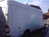 Man with van courier and home remover long wheelbase 24/7