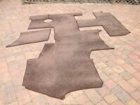 Brown bound carpets suitable for Knaus Sun TI 2013 Motorhome