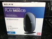 Belkin Play N600 DB Dual Band Router - BRAND NEW BOXED