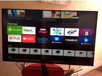 SONY 43-inch Smart ULTRA SLIM ANDROID LED TV-43W755C,built in Wifi,Freeview HD, EXCELLENT CONDITION