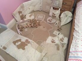 Loved and Adored Nursery Bedding Set (neutral colour) Babies R Us